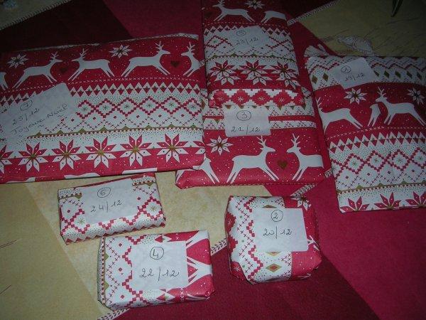 Echange de Noel sur 7 jours N° 2