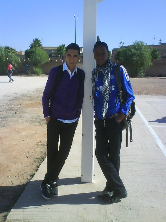 mee et mn pote walid
