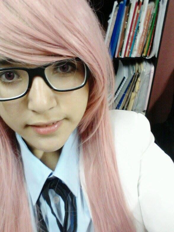 Momoi satsuki cosplay (uniforme)