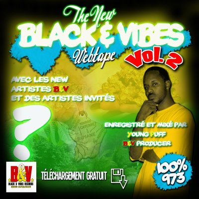 THE NEW BLACK & VIBES WEBTAPE VOLUME 2 - 2011