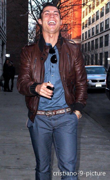 Cristiano à New-York pour la St.Valentin