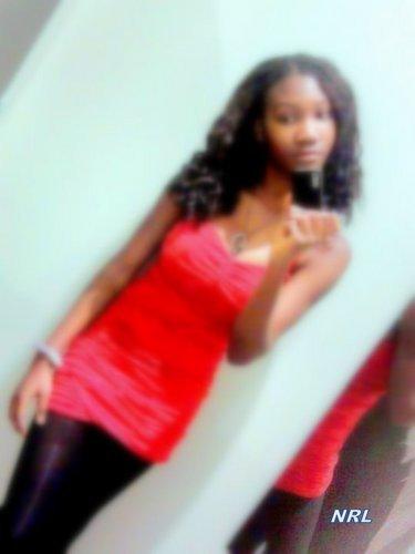 :) moi en robe..