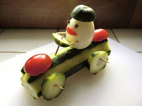 voiture courgette