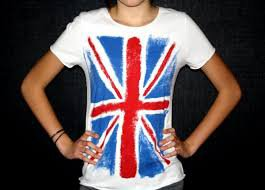 [DIY n°1] Ton Tshirt so british
