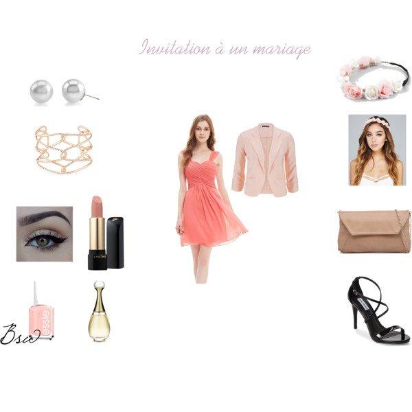 [Tenue n°3] Invitation à un mariage de FashionBeautyAddictMe