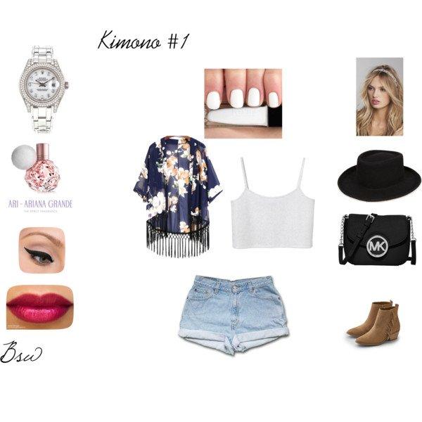 [Déclinaisons n°2] 1 kimono, 2 déclinaisons
