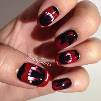 [Nail art n°3] 3 nail-arts d'Halloween