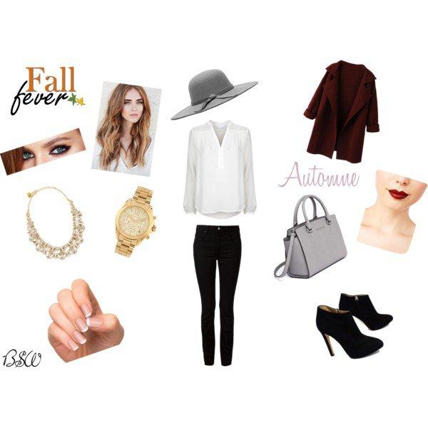 [Tenue n°5] Chic en Automne avec un chapeau de FashionBeautyAddictMe