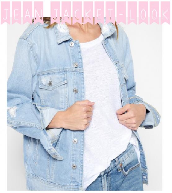 Déclinaisons - 1 veste en jean, 2 déclinaisons