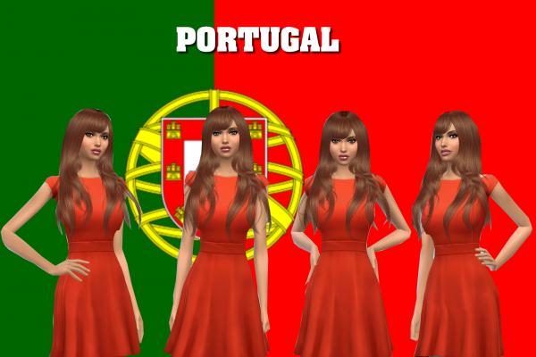 2) Miss Portugal