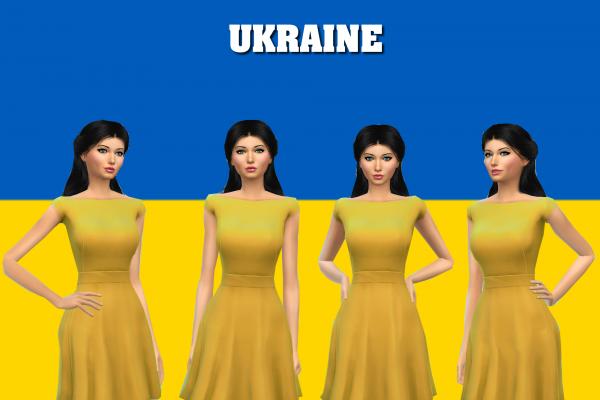 4) Miss Ukraine