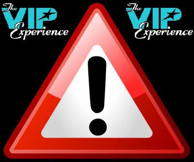 The VIP experience...