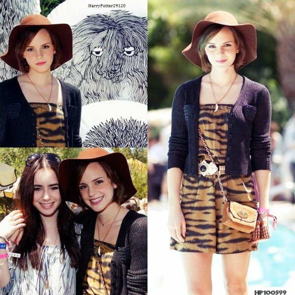 "Emma Watson: News Photos Tournage ""The Bling Ring"" + New Info "" Your Voice in my Head"" + Festival de Musique de Coachella"