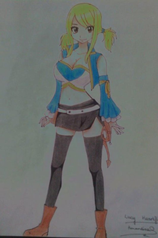 DESSIN #2_FAIRY TAIL_Lucy Heartfilia