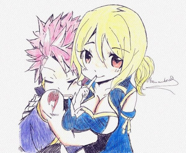 DESSIN #3_FAIRY TAIL_NaLu~
