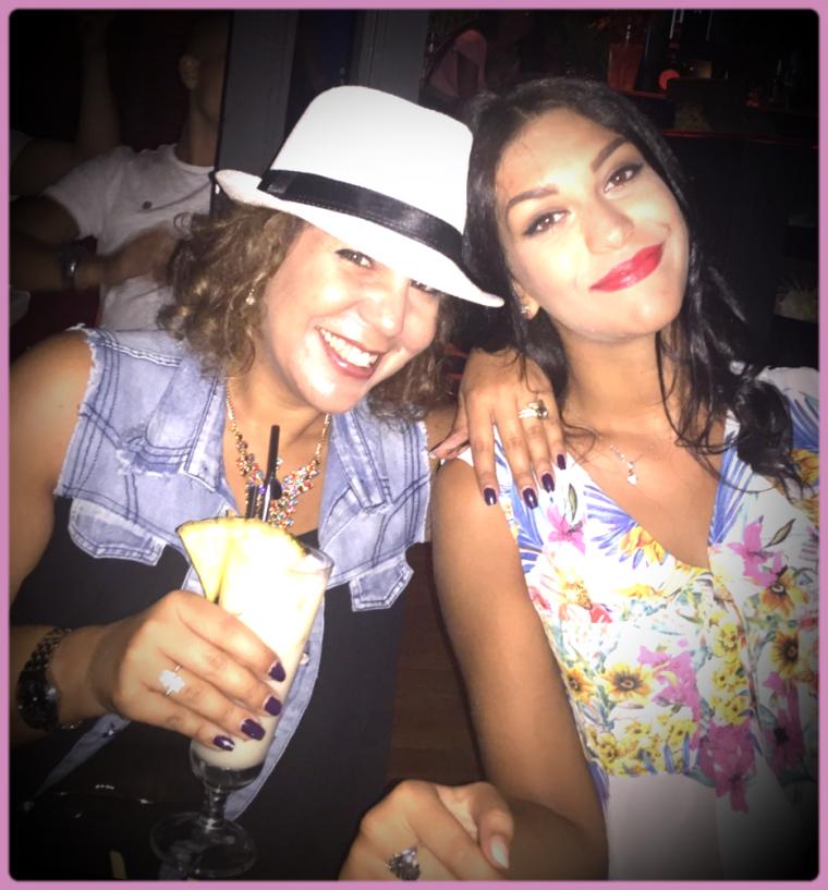 Délicieuse soirée avec ma ptite cousine au Fuego Latino...
