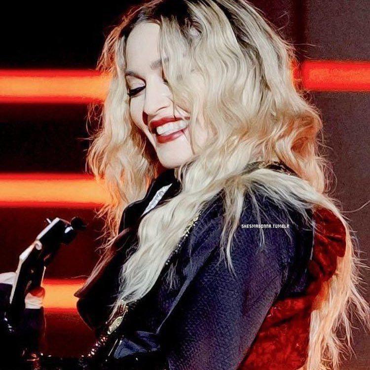 Indétrônable Madonna...