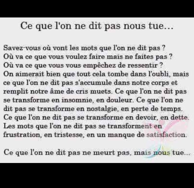 Absolument d'accord...