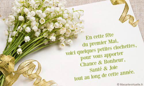 Happy 1er mai!!!! :-)