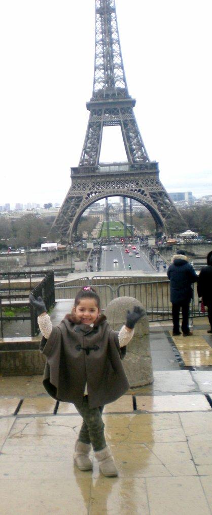 Mon bébé à Paris!!!!