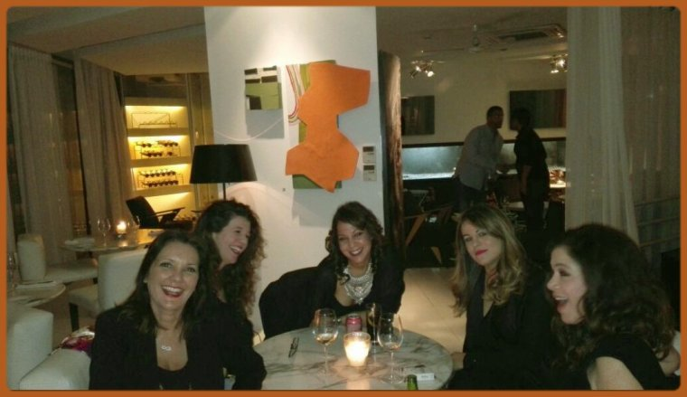 Super soirée entre nanas last night!!!!!