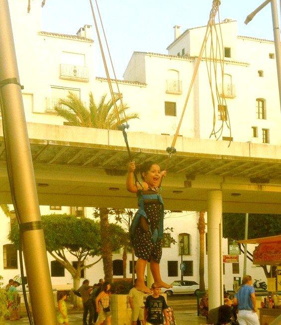 Trampoline magique!!! Yeaahhhhhh