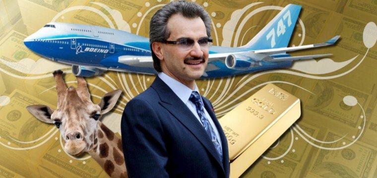 Un prince saoudien fait don de sa fortune à l'humanité !