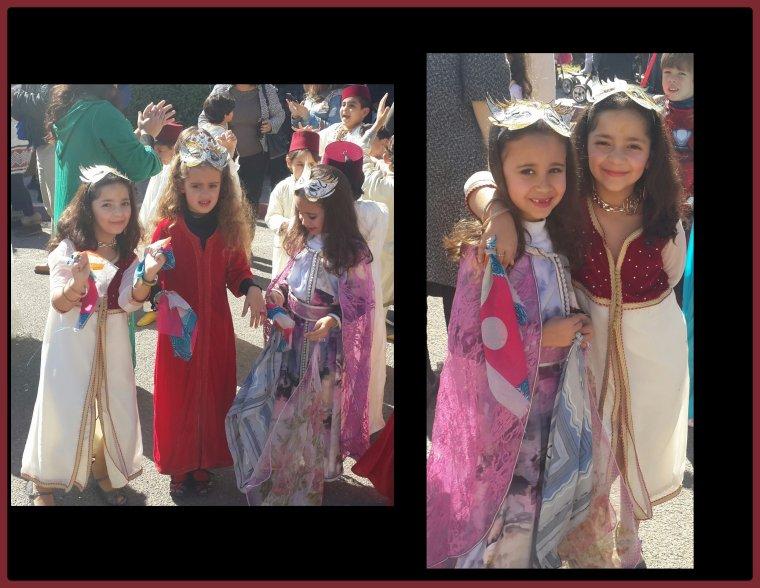 Ma princesse d'amour fait son carnaval... ;-)