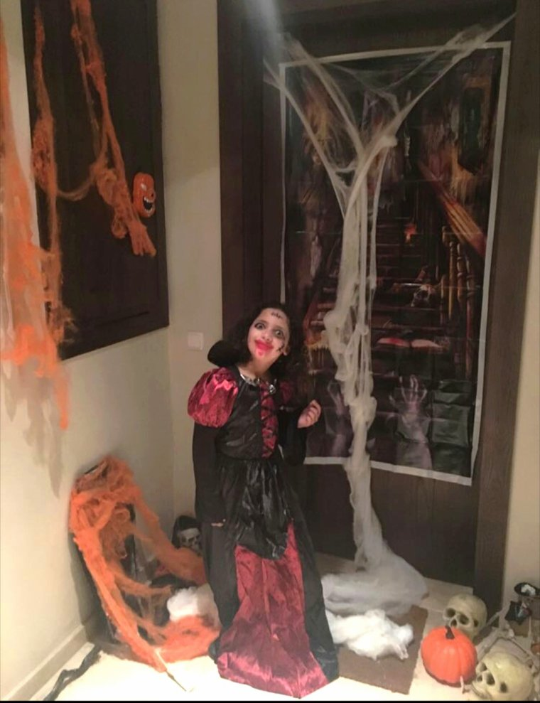 Halloween 2017 : ma ptite vampirette!!!!