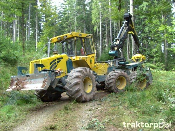 tracteur forestier hsm