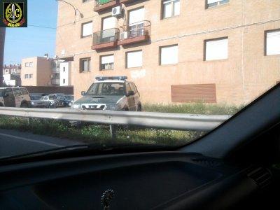 Nissan Terrano II, Guardia Civil