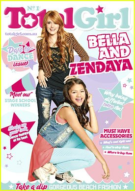 Bella Thorne & Zendaya font la couverture du magazine `Top Girl'