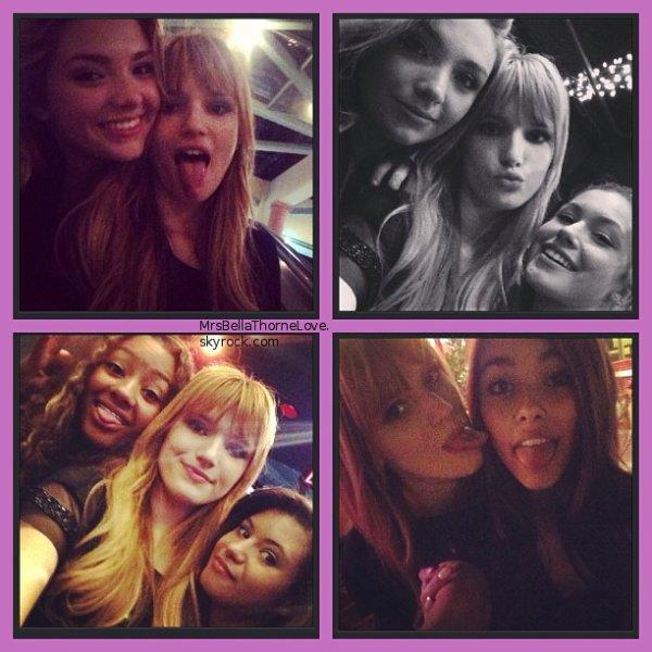 Nouvelles photos Twitter de Bella du 6 et 7 avril