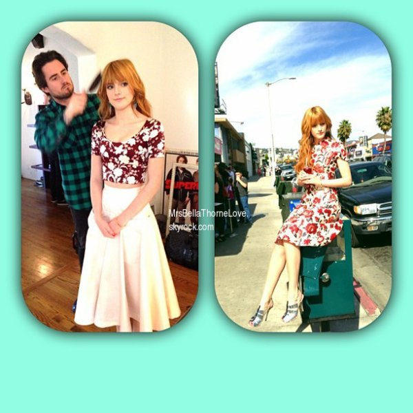 Bella Thorne dans le magazine Teen Vogue du mois de Mai 2013