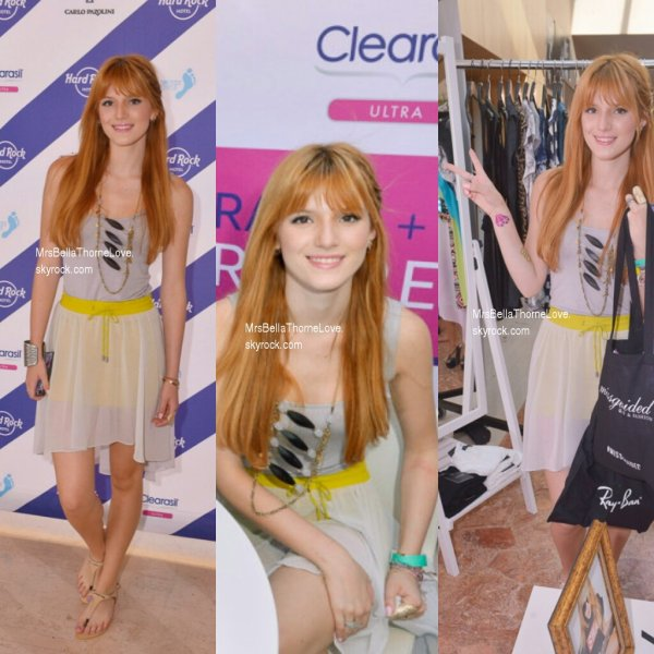 Bella Thorne au festival de Coachella le 12 avril 2013
