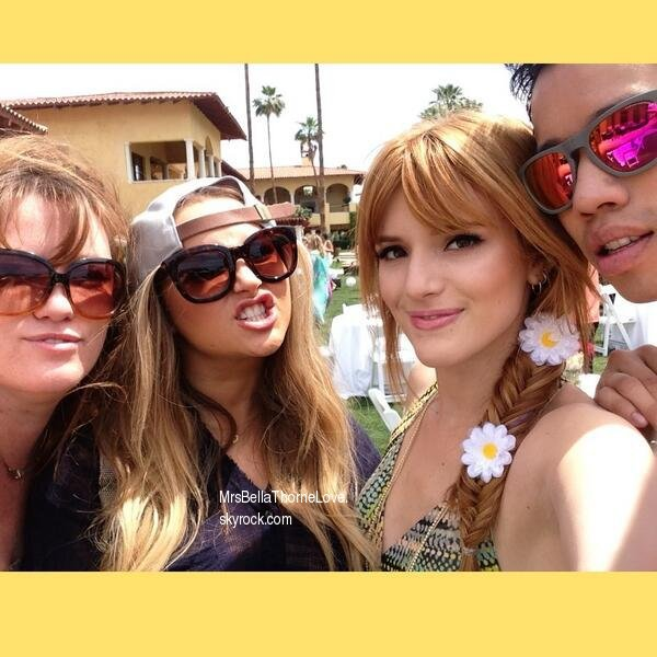 Nouvelles photos Twitter de Bella du 13 avril 2013