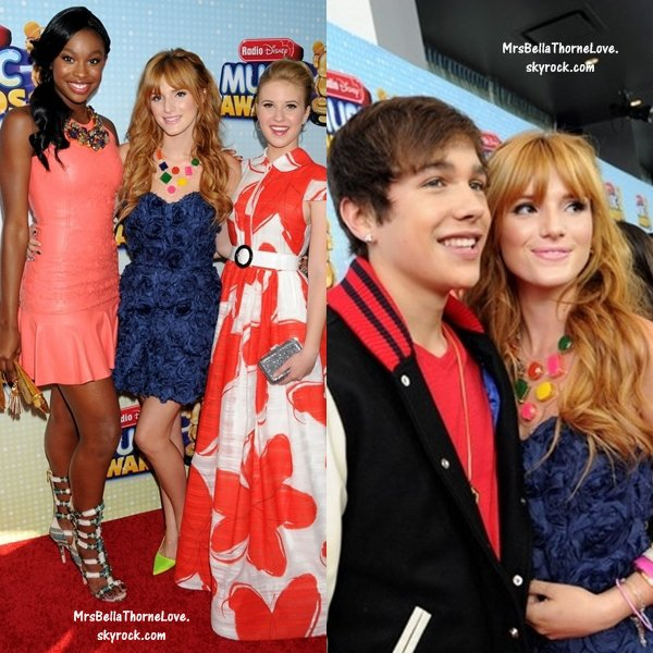 Bella Thorne au Radio Disney Music Awards 2013 le 27 avril