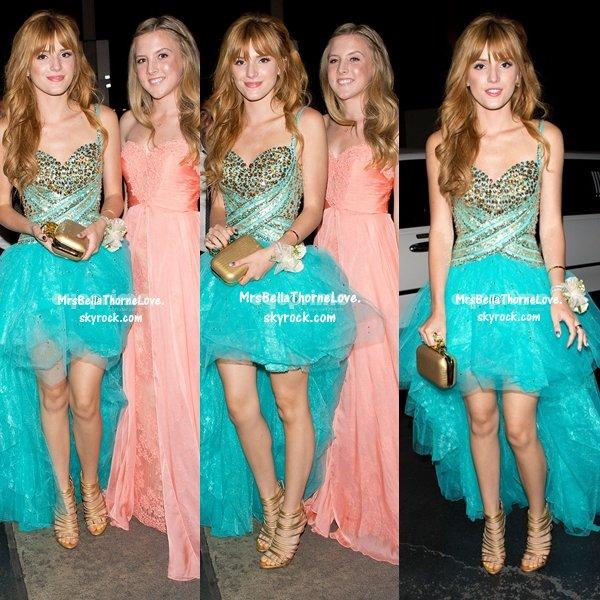Bella Thorne, Tristan et Bella P à leur bal de promo le 27 avril 2013