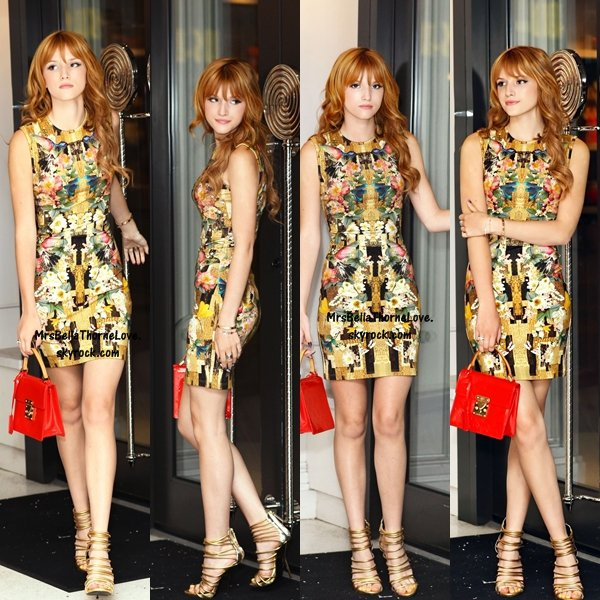 Bella Thorne au Sugar et Plumm de New York le 1 mai 2013