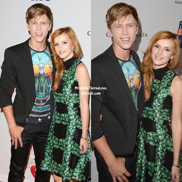 Bella Thorne et Tristan Klier au gala de Love To Erase MS le 3 mai 2013
