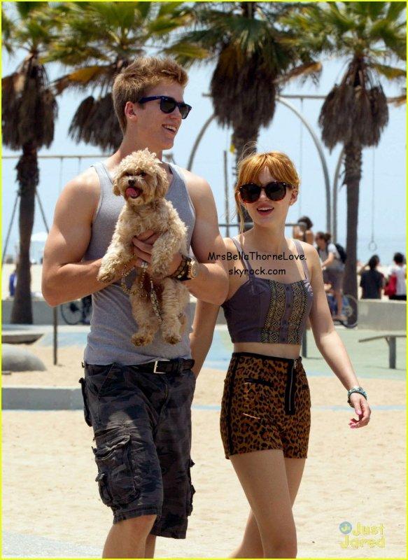 Bella Thorne et Tristan à Santa Monica le 30 Juin 2013