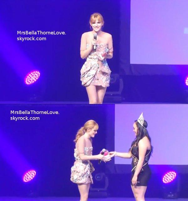 Bella Thorne au KartTV Dance Awards le 3 Juillet 2013 (partie 1)
