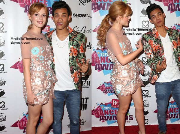 Bella Thorne au KartTV Dance Awards le 3 Juillet 2013 (partie 1)