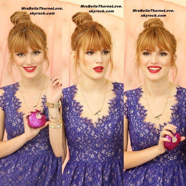 """Sara Jaye Weiss photographie Bella pour le parfum de Vera Wang """"Pink Princess"""""""