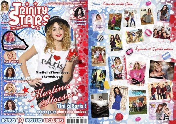 Bella Thorne sera dans le nouveau numéro hors-série de Trinity Stars en vente le 24 Juillet