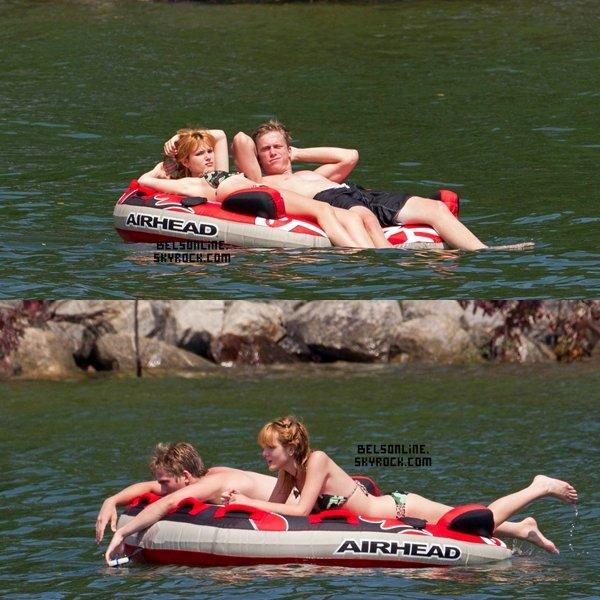 Bella Thorne et sa famille au Lac Lannier à Atlanta le 29 Juillet 2013