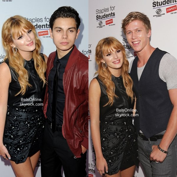 Bella Thorne à l'After Party des Teen Choice Awards au Staples For Student le 11 Août 2013