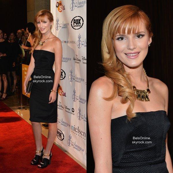 Bella Thorne à la 28ème cérémonie des IMAGEN Awards le 16 Août 2013
