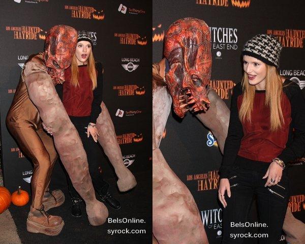 Bella Thorne à la 5ème cérémonie des Haunted Hayride le 10 Octobre 2013