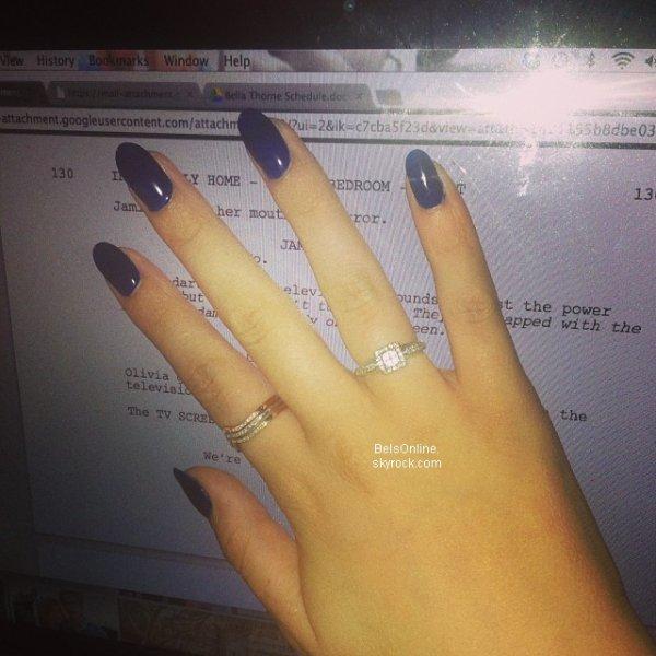 Nouvelles photos Twitter de Bella Thorne du 2 Novembre 2013